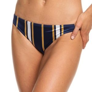 Roxy Romantic Senses Moderate Bikini Bottoms S